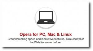 Browserul Opera 10.62 este disponibila pentru download