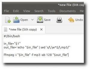 Script Nautilus pentru a extrage sunetul in format .mp3 din clipuri video