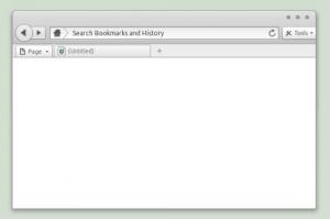 Elementary, o tema superba pentru browserul Firefox